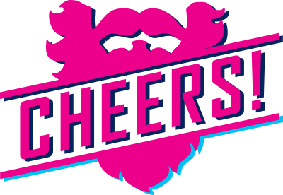 cheers beards logo