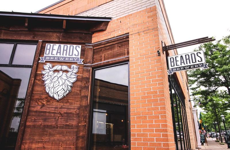 Beards Outside 1