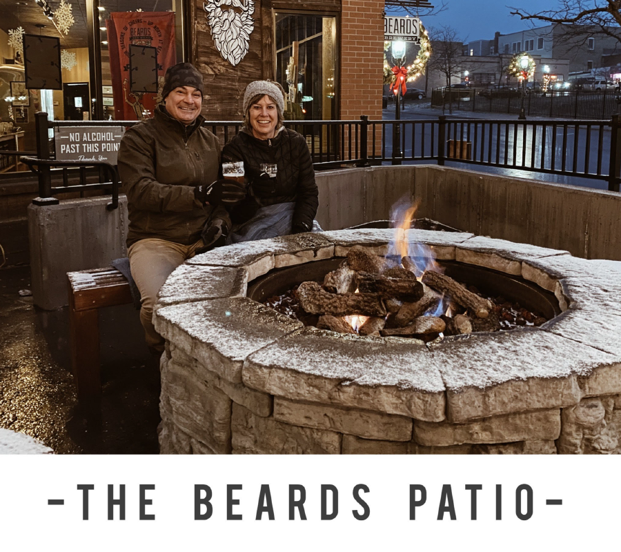 Patio Fire Couple