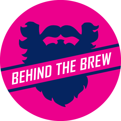 behind the brew button