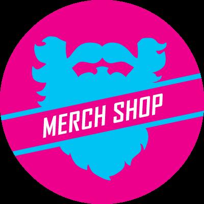 merch shop button