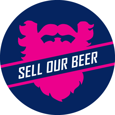 sell our beer button
